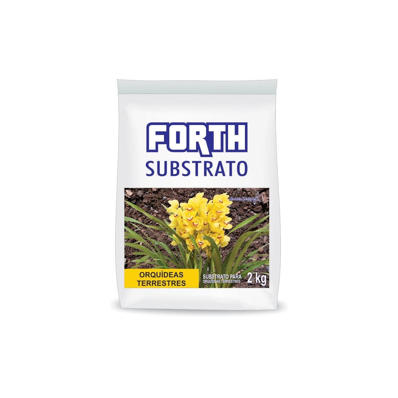 Fertilizante FORTH Substrato Orquídea Terrestre 2kg