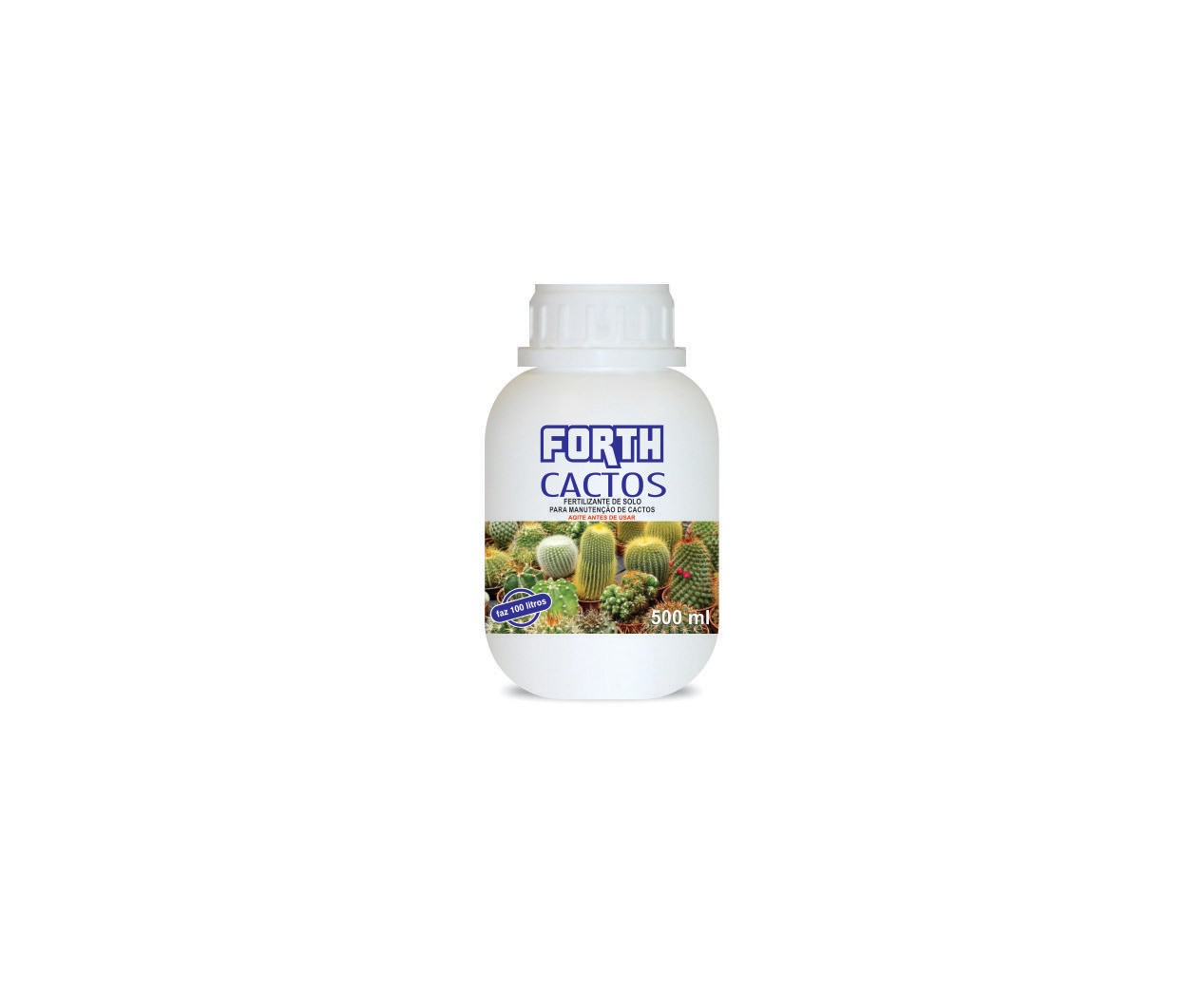 Fertilizante Para Cactos FORTH Liquido 500ml