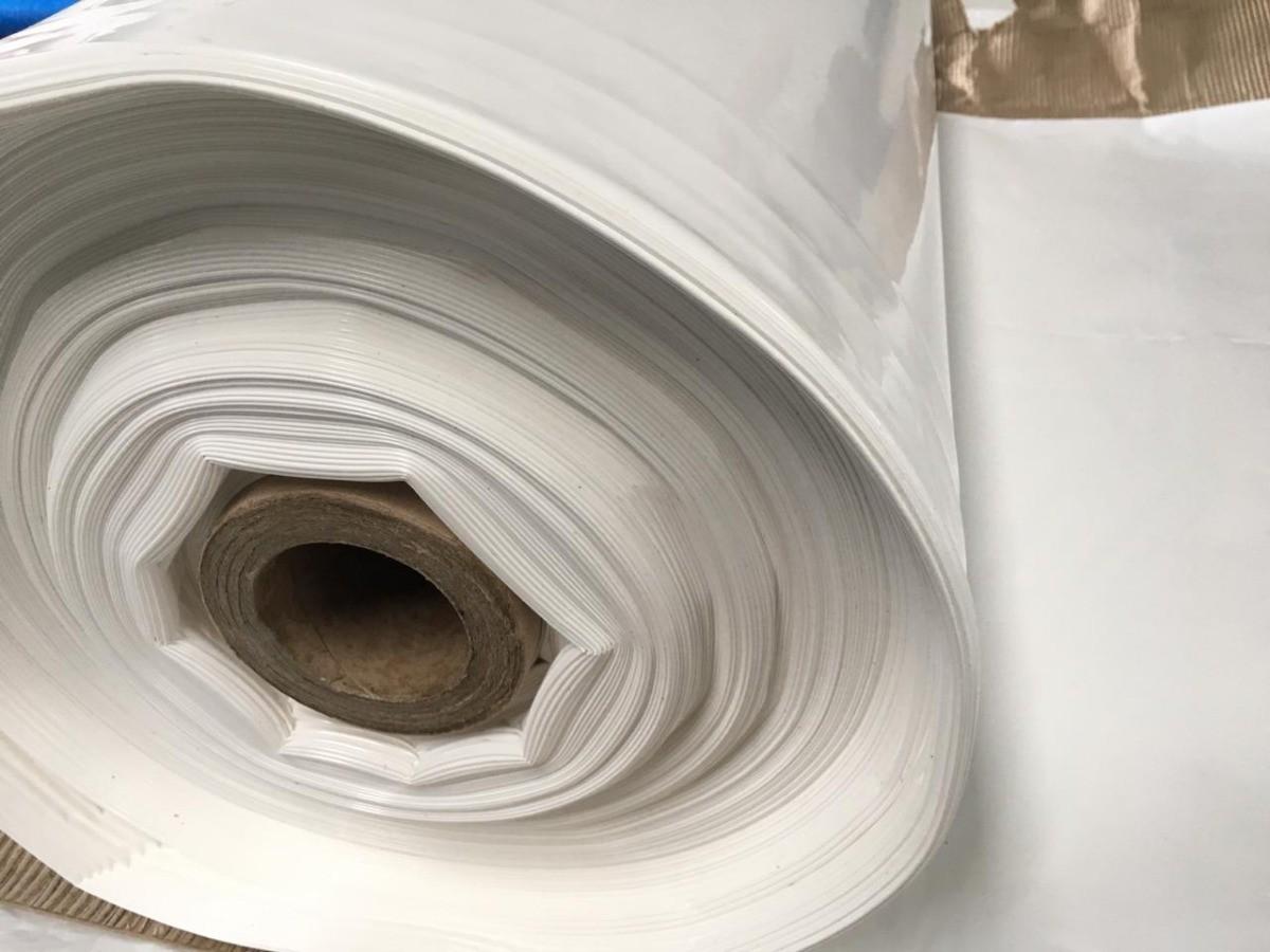 Filme Plástico Para Estufa Agrícola Leitoso 100 Micras