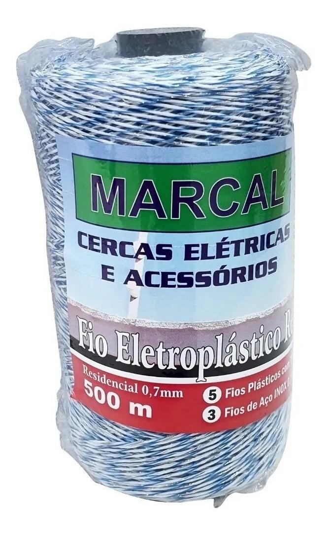 Fio Eletroplástico Metalizado Residencial 5/3 - 500M