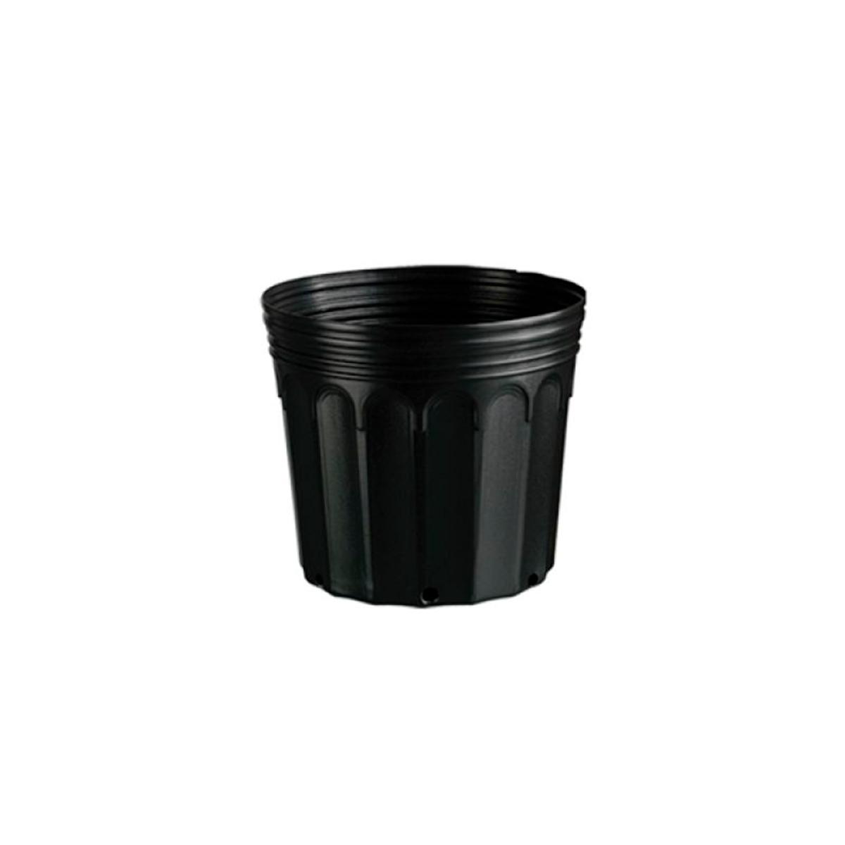 Kit 100 Embalagem Vaso para Mudas Plástico 3,6L