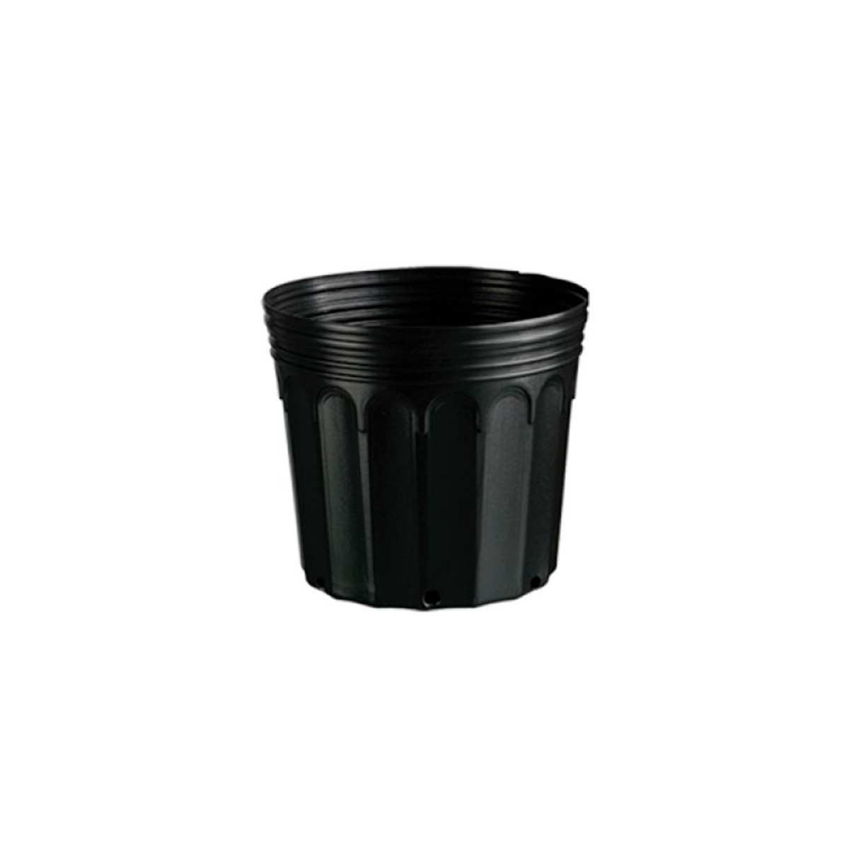 Kit 45 Embalagem Vaso para Mudas Plástico 3,6L