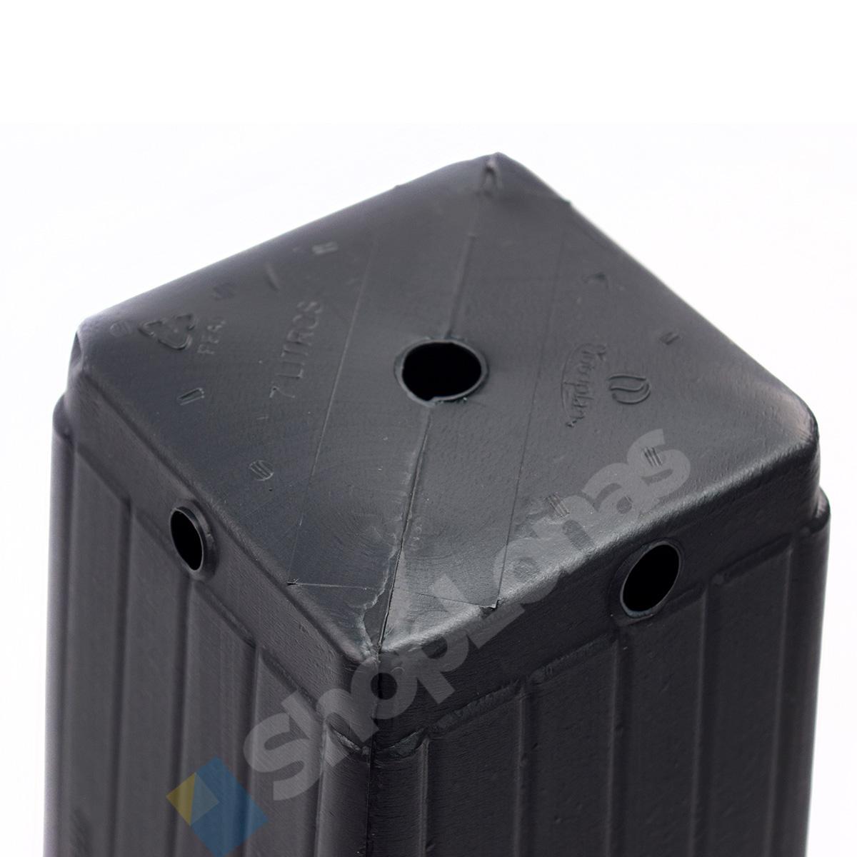 Kit com 100 Embalagem Para Mudas Nutriplan 7 Litros Preto