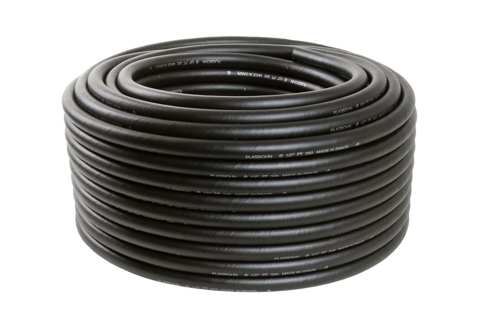 """Kit com 3 Mangueira Ar e Água Alta Pressão Compressor PT 300 5/16"""" 2mm 50m"""