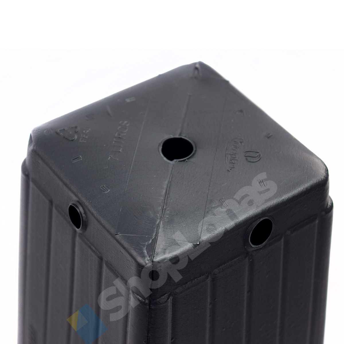 Kit com 45 Embalagem Para Mudas Nutriplan 7 Litros Preto