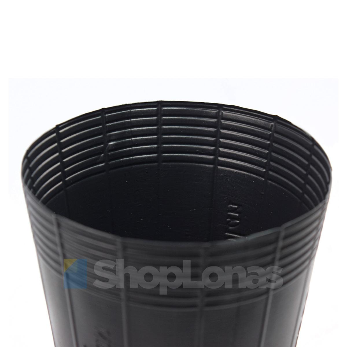 Kit com 45 Embalagem Vaso para Plantas e Mudas Nutriplan 3,8L