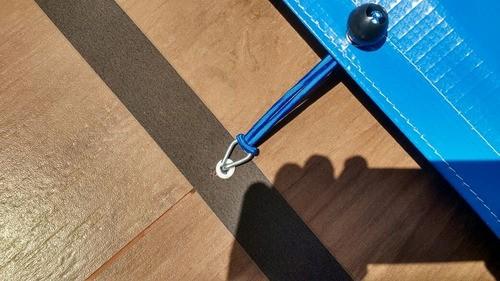 Kit de Elástico Azul com Bola