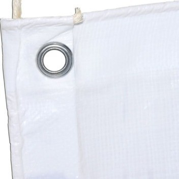 Lona Barraca de Feira SL300 Cobertura Tenda Branca 11,5x4,5