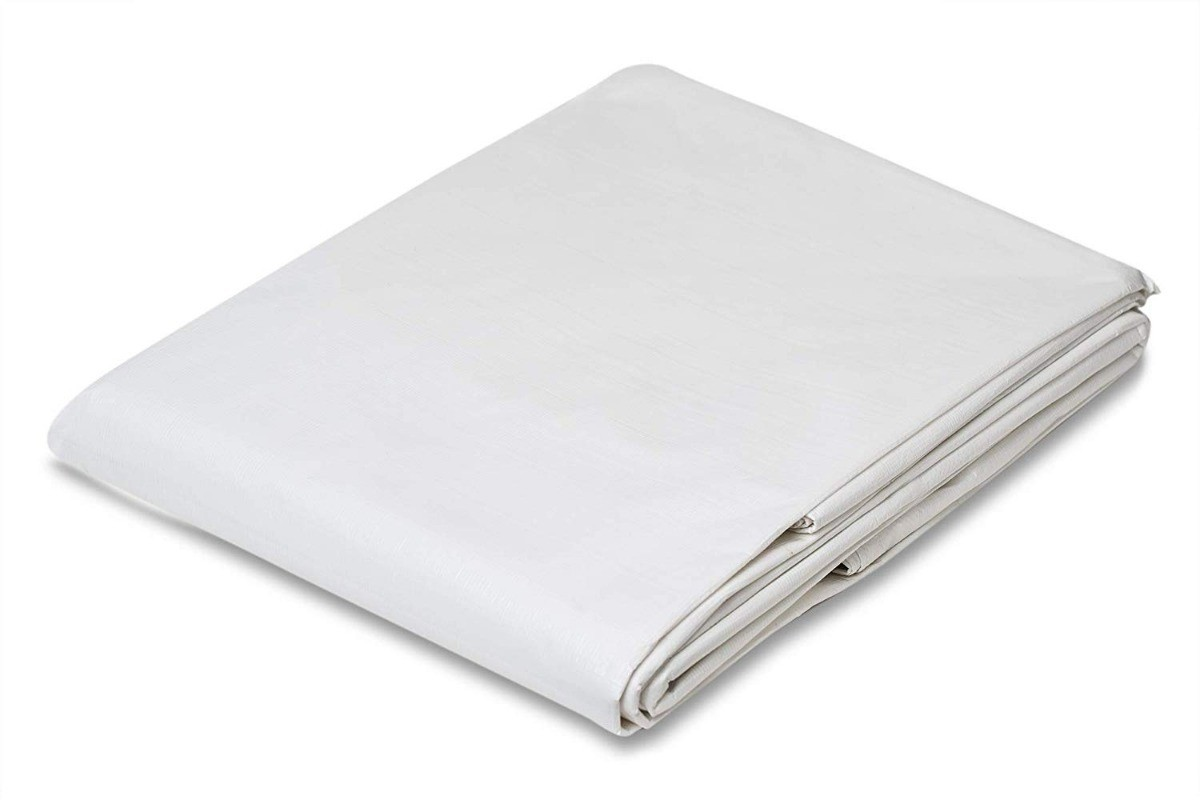 Lona Barraca de Feira SL300 Cobertura Tenda Branca 5,5x2,5