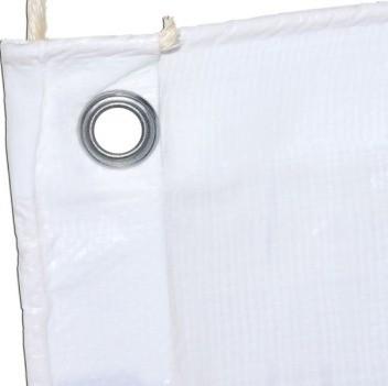 Lona Barraca de Feira SL300 Cobertura Tenda Branca 7,5x5