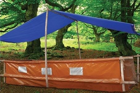 Lona Capa Proteção Multiuso Azul Cobertura SL300 2x1,5