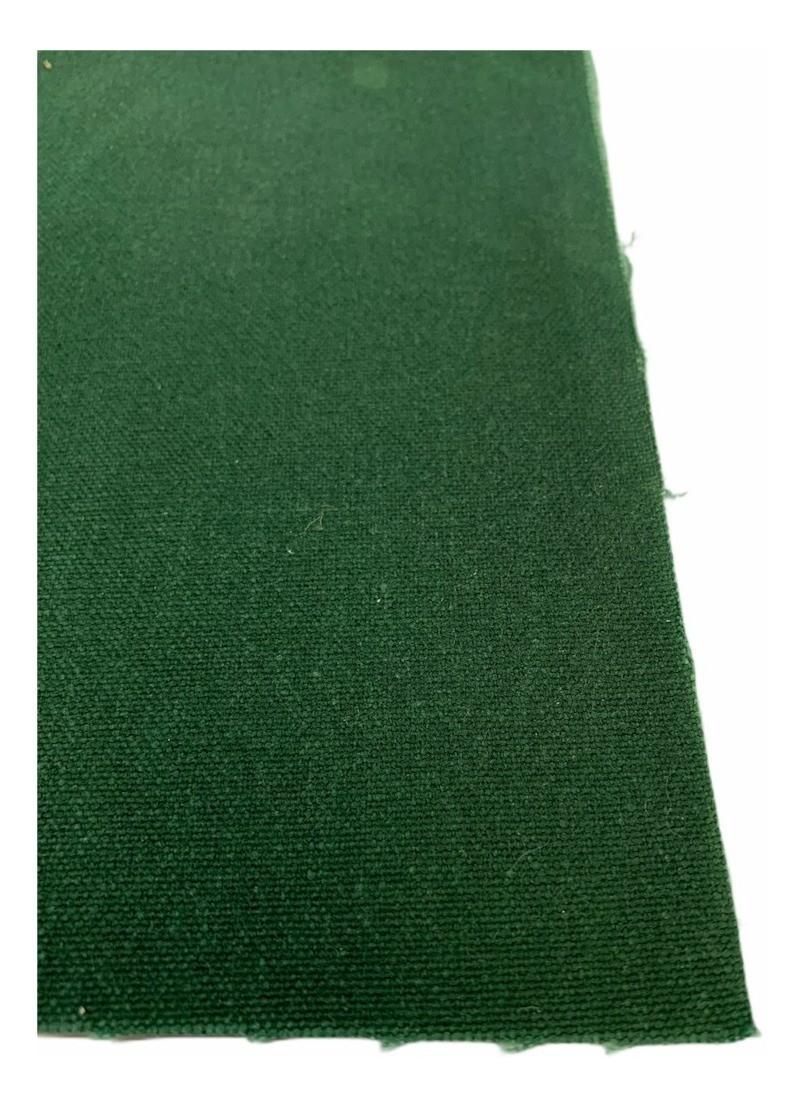 Lona Encerado Carreteiro Verde Algodão Fio 8 2,06x3