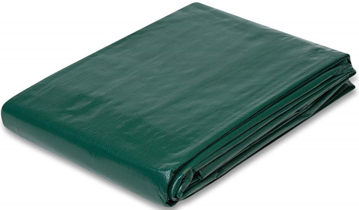 Lona Multiuso Impermeável Barraca de Feira em Polietileno Verde 300 Micras