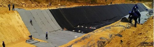 Lona Para Piscicultura Lago Tanque 15x15 Mts