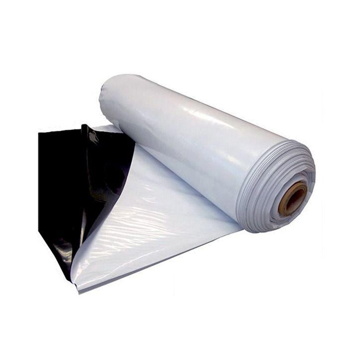 Lona Para Silagem Dupla Face Branca/Preta 5x6 Aprox 200 Micr