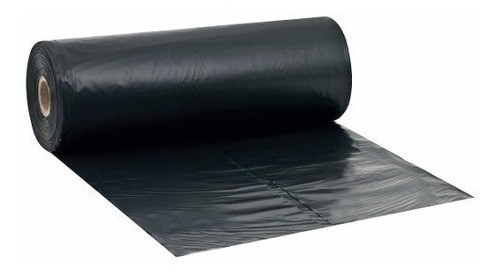 Lona Plástica Preta Prática Multiuso Obra Nortene 6x100m 26kg