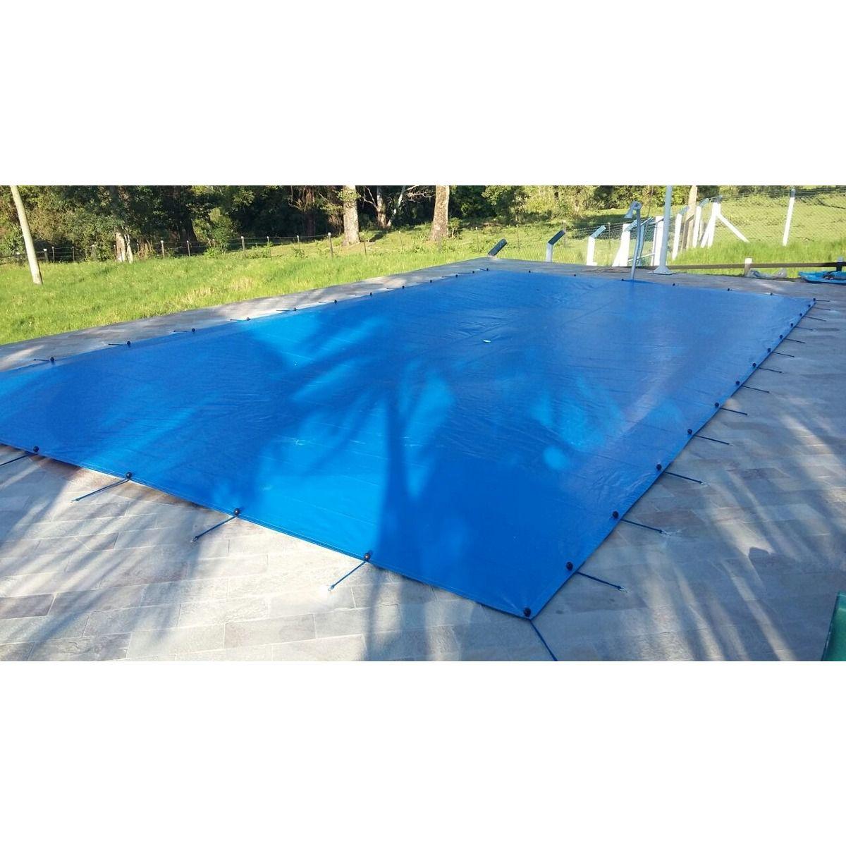 Lona Polietileno Azul 300 Micras - 8,5x3,5