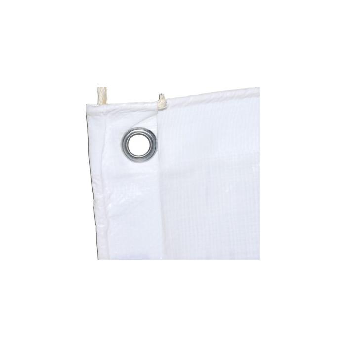 Lona Polietileno Branca 300 Micras 8x6