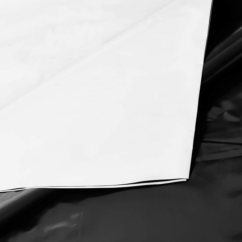 Lona Silagem Dupla Face Neoplastic Branca/Preta 12x50m - 65kg