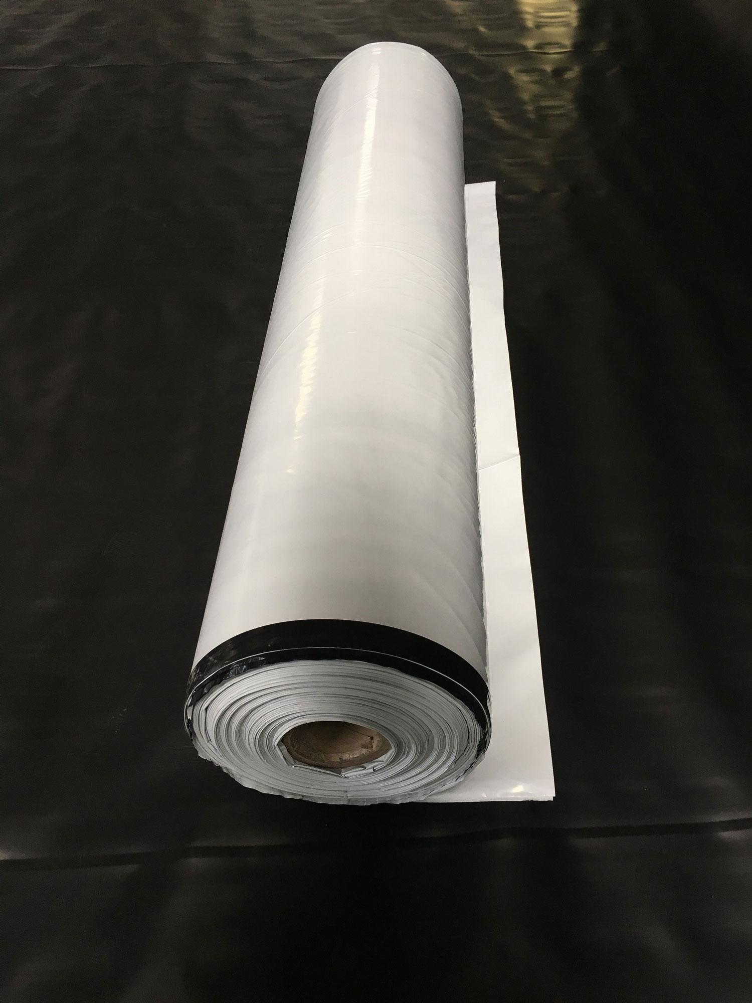Lona Silagem Nortene Branca/Preta 72kg - 6x17m