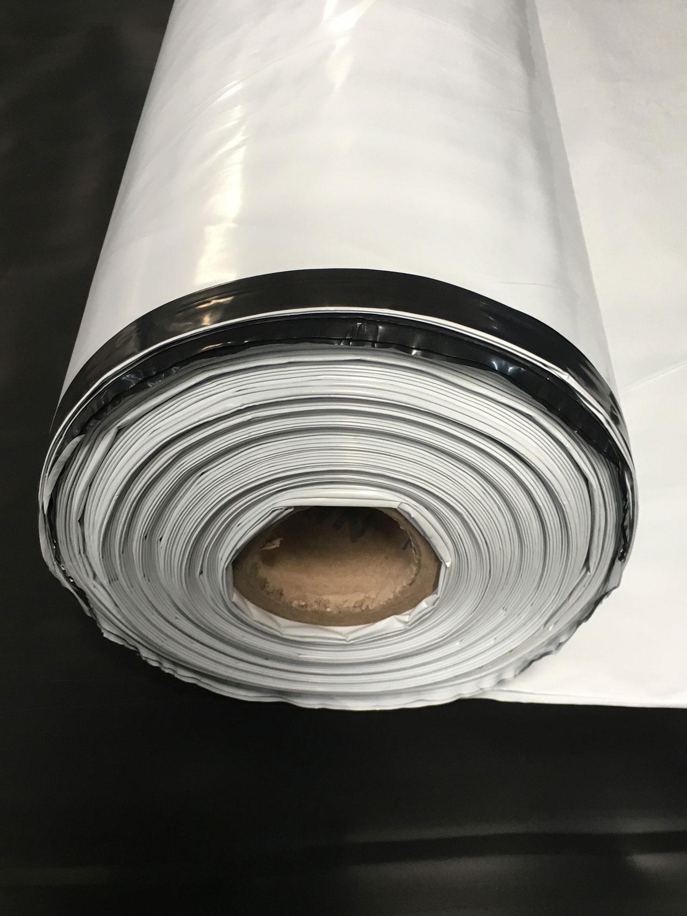 Lona Silagem Nortene Branca/Preta 72kg - 6x23m