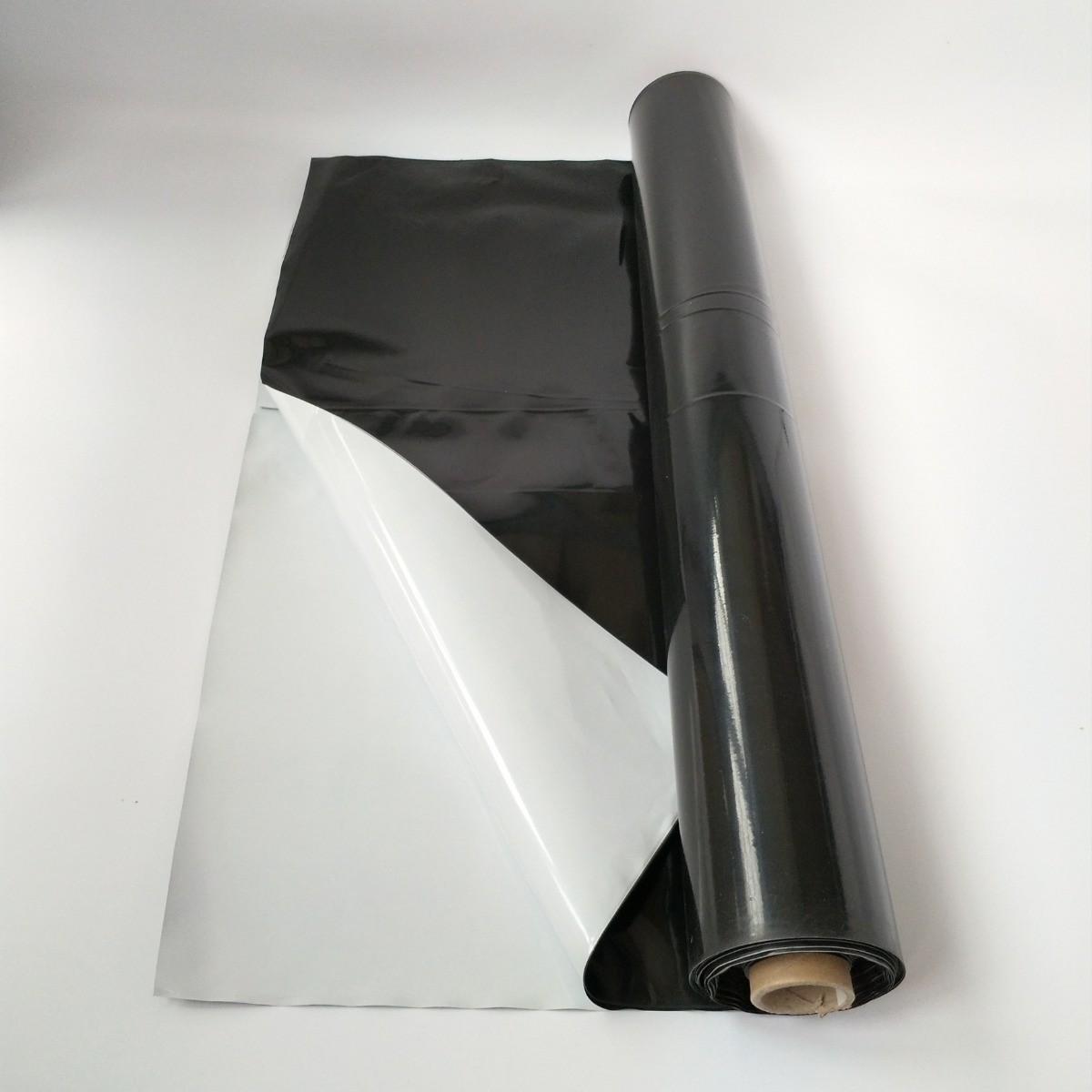 Lona Silagem Nortene Branca/Preta 72kg - 6x55m
