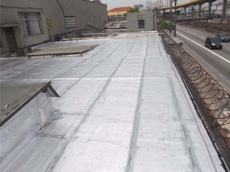 Manta Asfáltica Auto Adesiva Alumínio 15cm