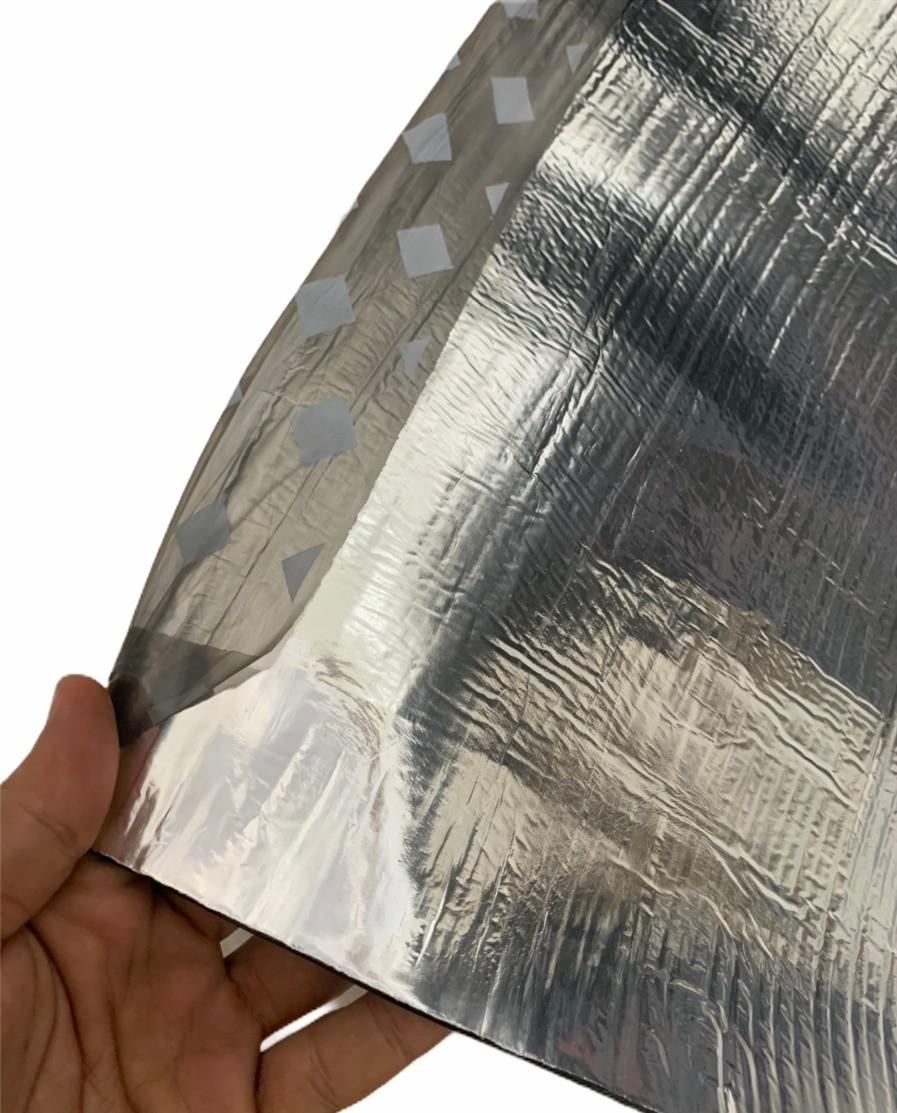 Manta Asfáltica Primer Polietileno Aluminizada 2,5mm 1x10m