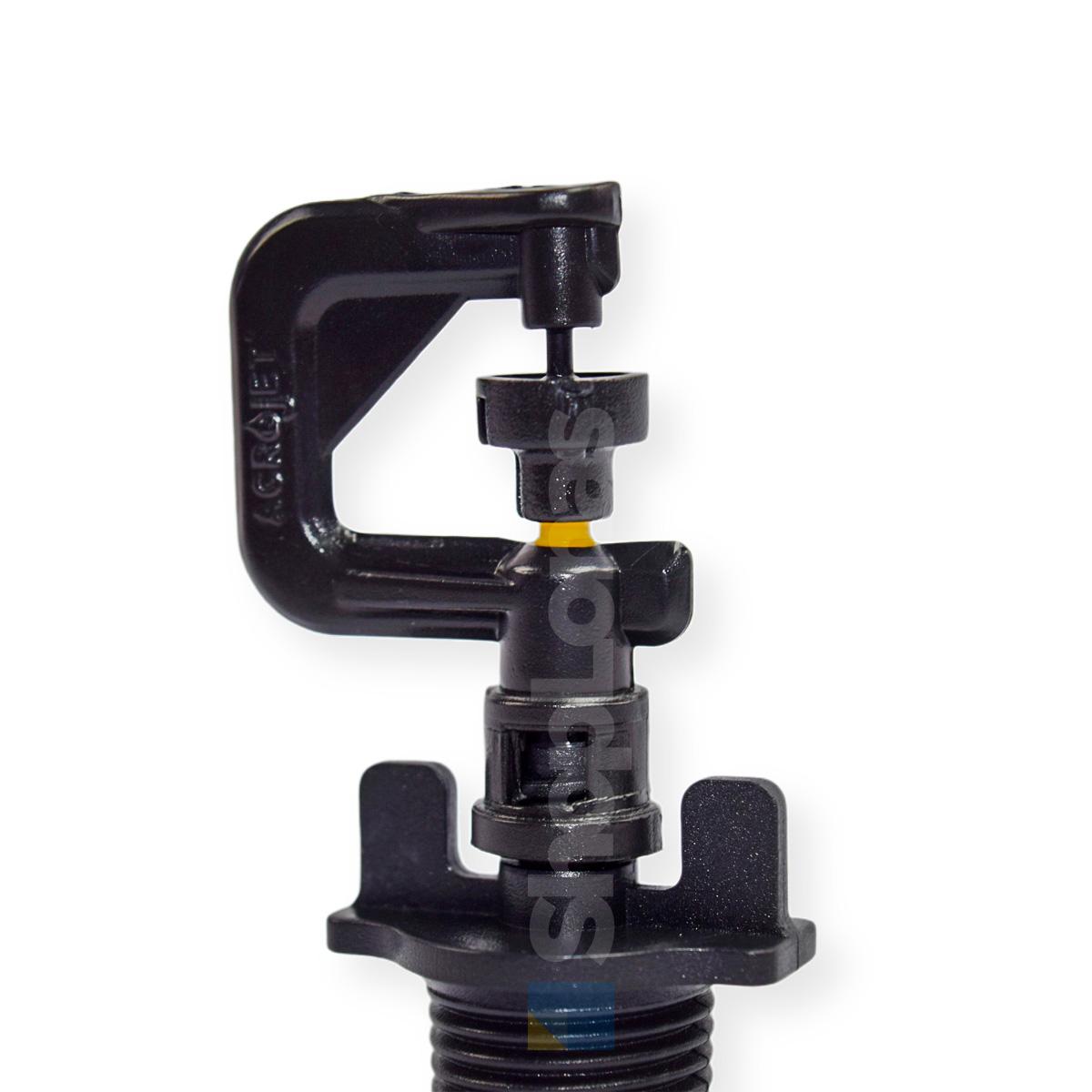 Microaspersor Bailarina Irrigação Saída Dupla Base 1/2 Pol. 100 un