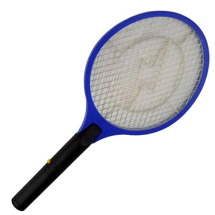 Raquete Elétrica Mata Moscas Mosquito Insetos  Pilha AA Star