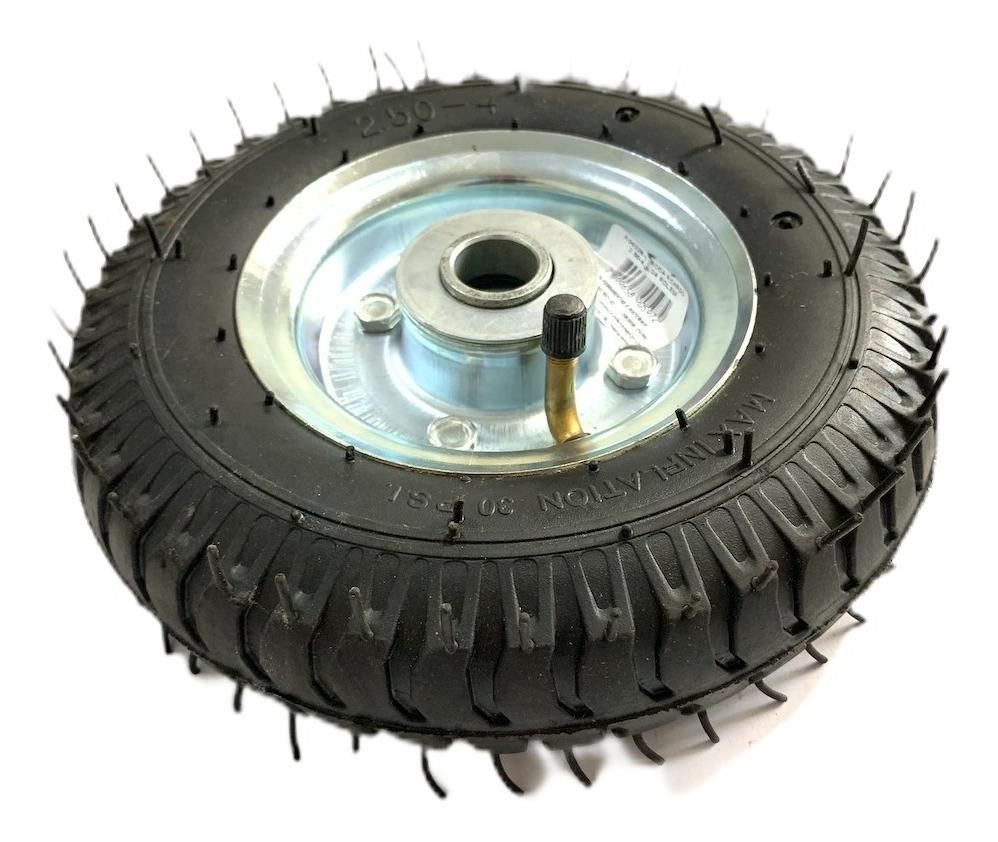 Roda Pneumática Para Carrinho Carga 250x4 ou 8x2