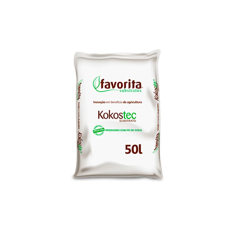 Substrato Fibra de Coco Kokostec 04 Plantio Germinação 50L