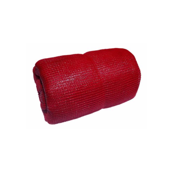 Tela de Sombreamento Ultranet Vermelha 35% - 3x85