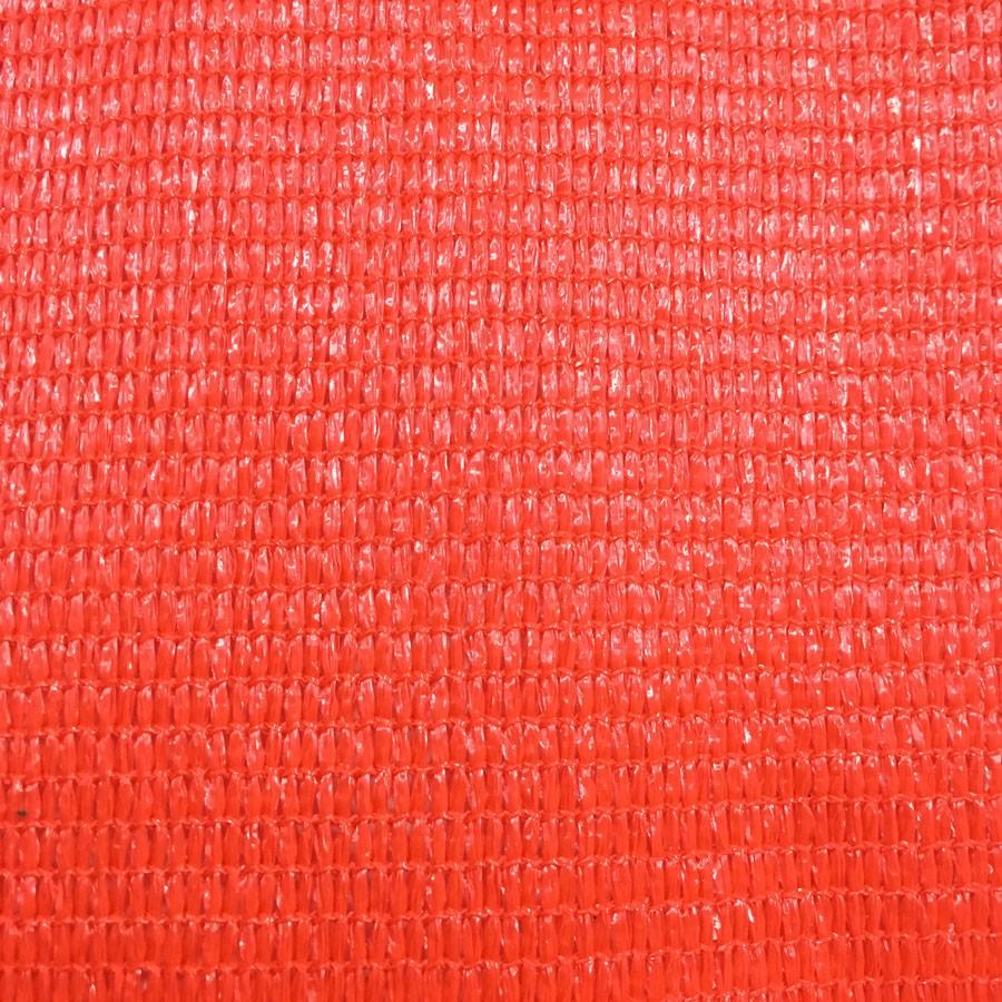 Tela Decorativa Vermelho com Bainha e Ilhós - 4x7,5