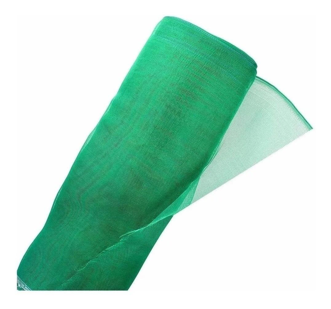 Tela Mosquiteira Proteção Anti Inseto Verde 1,50m x 10m