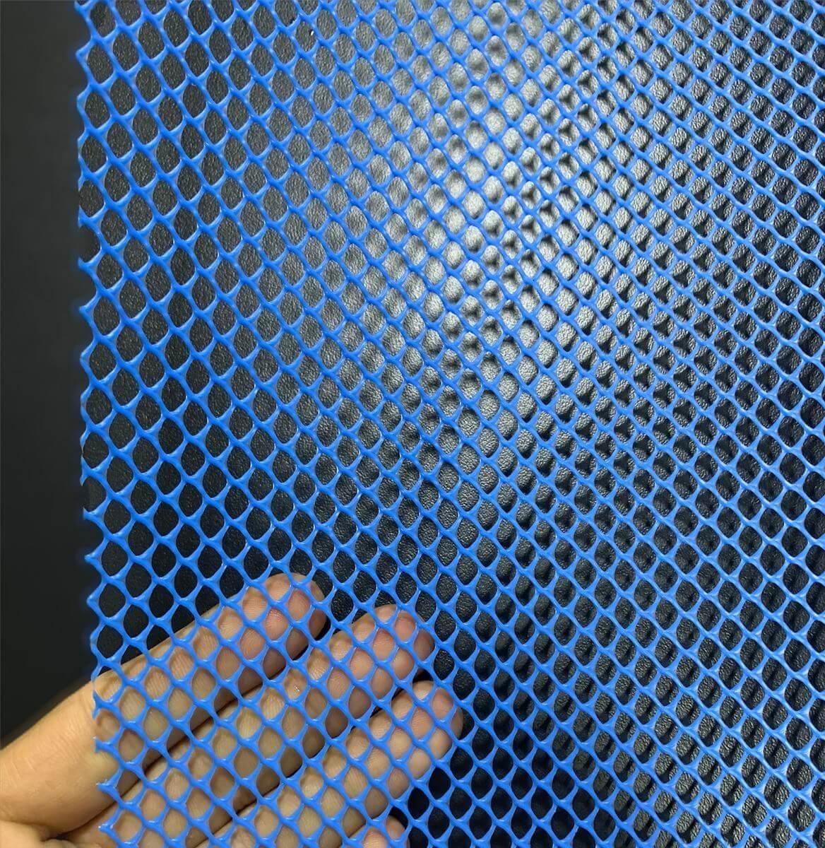 Tela Piscicultura Azul Peixe Alevino 4 Mm Pead 1 X 30 Metros