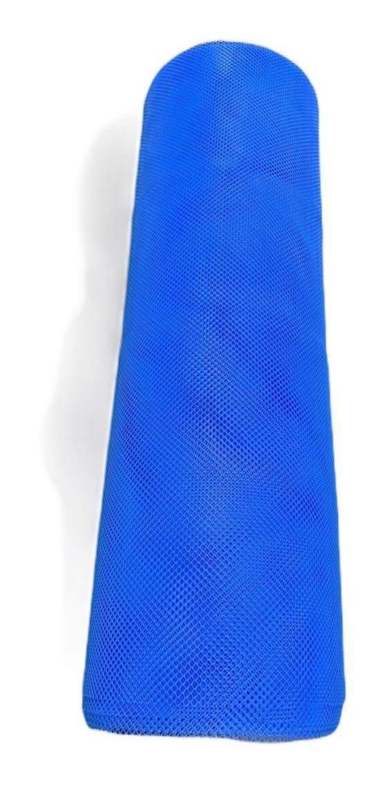 Tela Piscicultura Azul Peixe Alevino 4 Mm Pead 1 X 35 Metros
