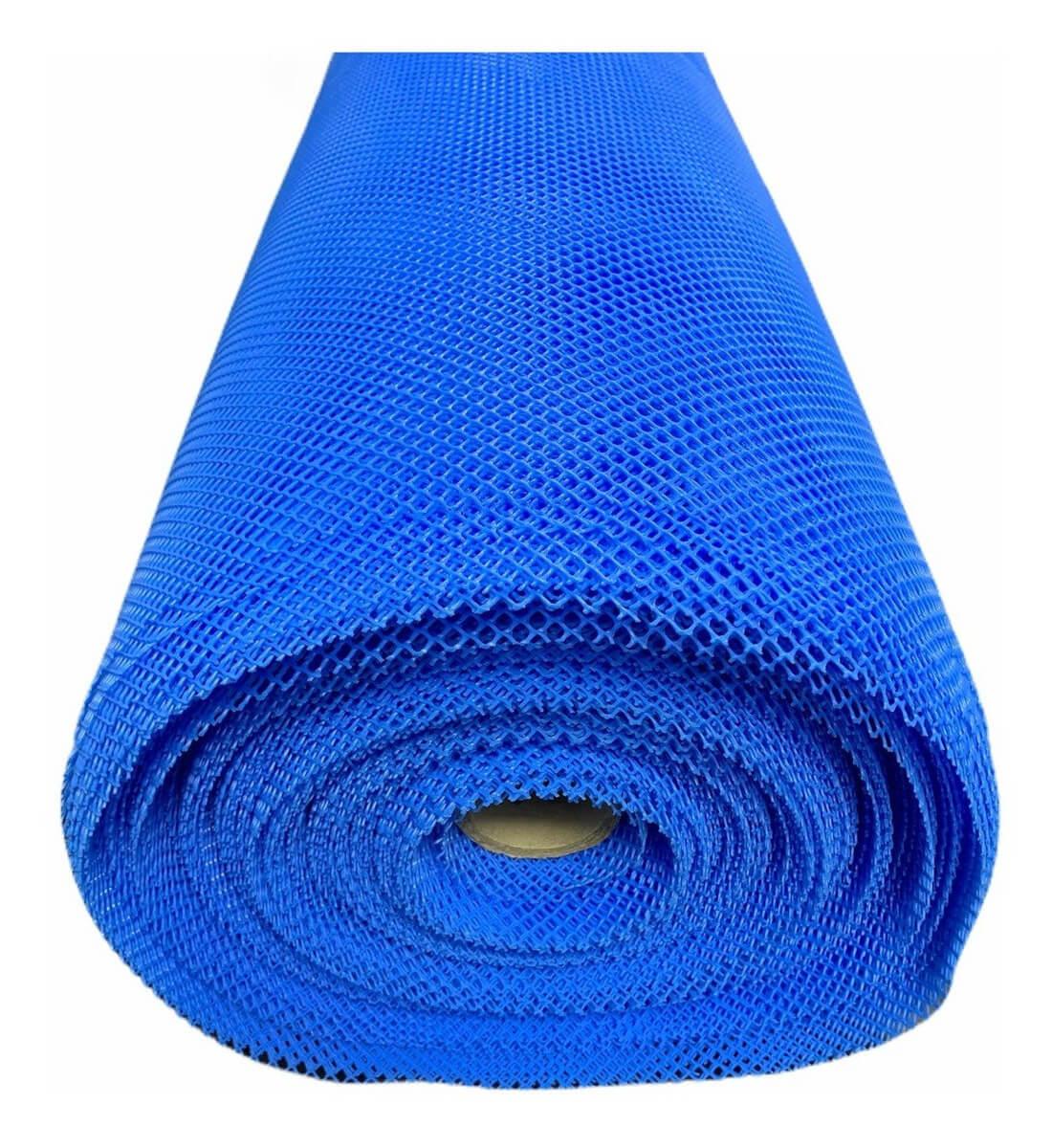 Tela Piscicultura Azul Peixe Alevino 4 Mm Pead 1x50m