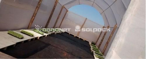 Tela Sombreamento Branca Rafia 2,1x100m - 50%