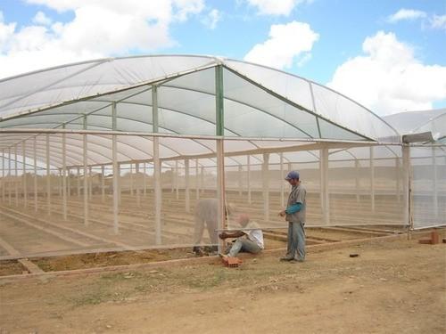 Tela Tecida Branca Fachada Agrícola Obras - 3x25m
