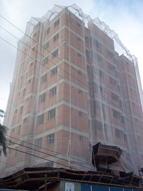 Tela Tecida Branca Fachada Agrícola Obras - 3x45m
