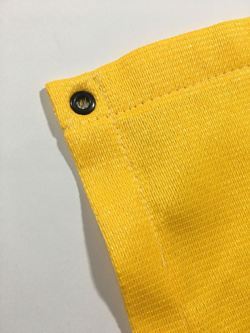 Tela Toldo Sombreamento Shade Amarelo Retangular 3,5x3m
