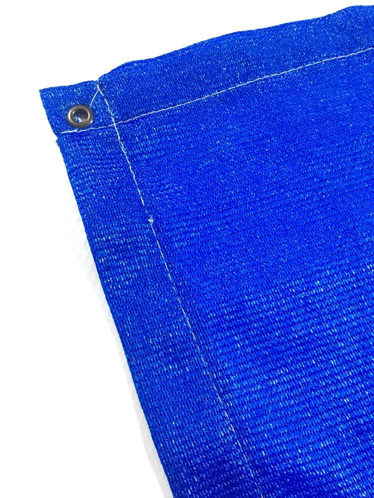 Tela Toldo Sombreamento Shade Azul Retangular 3,5x3m