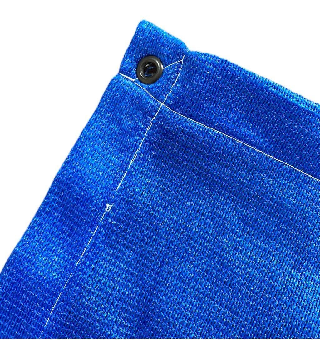 Tela Toldo Sombreamento Shade Azul Retangular 3x3m
