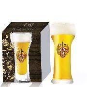Jogo de Copo de Cerveja Rock Style Wheat Beer 510ml 2 Pcs