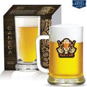 Caneca de Chopp Cerveja Vidro Chopp Star de 670ml 01 pç