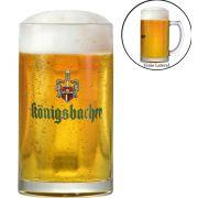 Caneca de Chopp ou Cerveja 0,4 Königsbacher 490ml Cervejas do Mundo