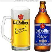 Caneca de Chopp de Vidro ou Cerveja Dado Bier Original 395ml