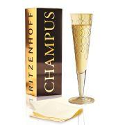 Taça de Champanhe Cristal Ritzenhoff Glass Andrea Ruggiero 2010 200ml