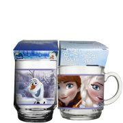 Conjunto de Copos Disney - Frozen Anna Elsa 2 Peças